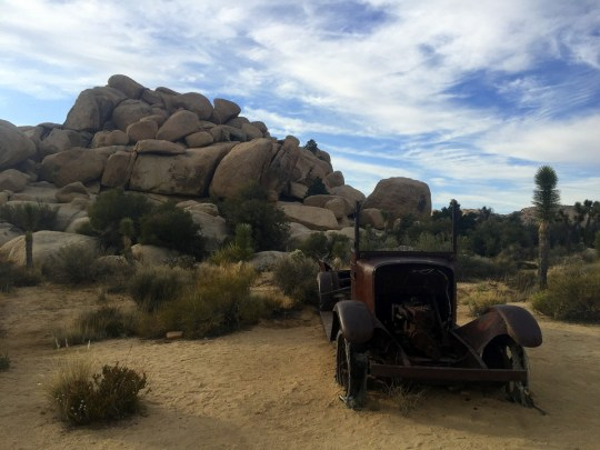 Wall Street Mill, Joshua Tree