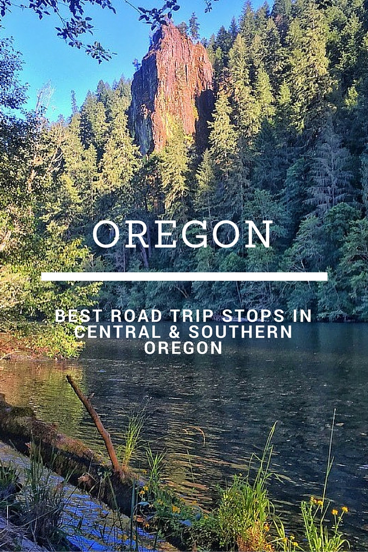 Central And Southern Oregon Road Trip Itinerary No Back Home
