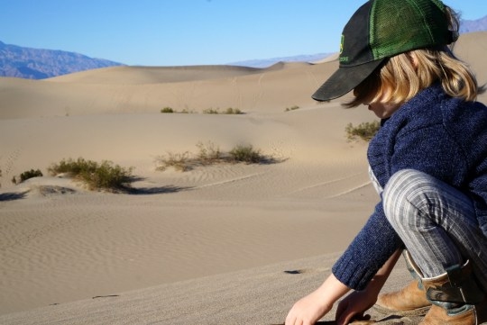 Mesquite Flat Sand Dunes - Death Valley
