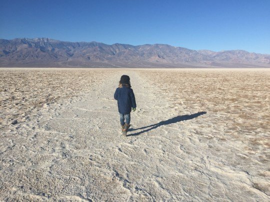 Death Valley with Kids - Badwater Basin