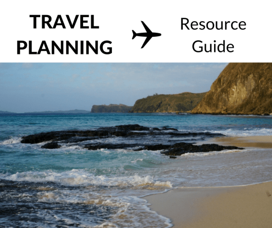Travel Planning : A Resource Guide