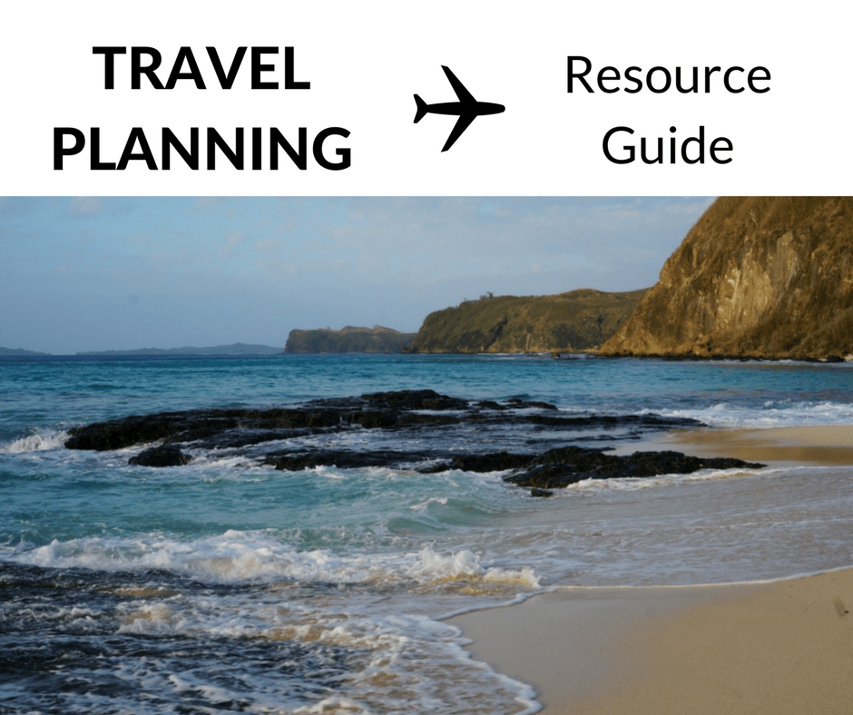 Copy of Travel Planning