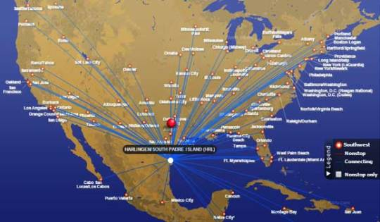 Flying international with Southwest Airlines