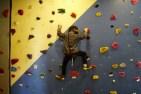 Climbing at Skypark at Santa's Village