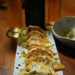 夏の手作り餃子&ビール