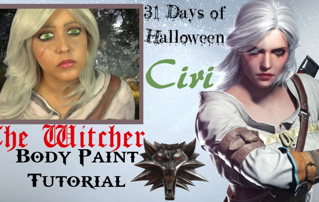 31 Days of Halloween: The Witcher- Ciri- Cosplay Tutorial