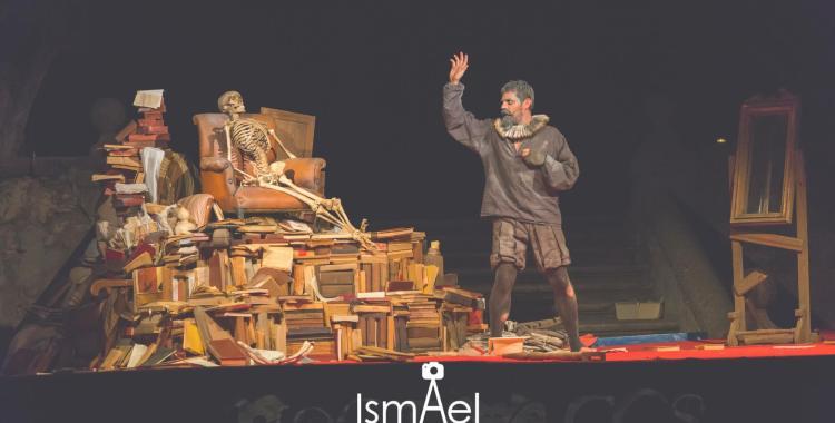 """2º Premio """"Diputación de Toledo"""": """"M.C. Manco y de La Mancha"""", de humorEAmore - FOTO: www.fotografiaismael.es"""