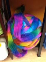 Random rainbow roving