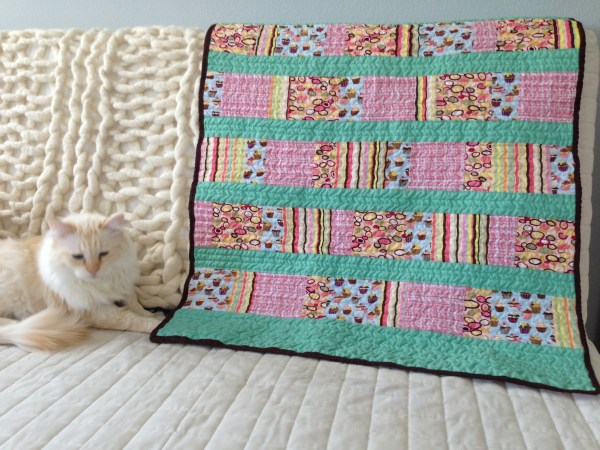 Sweet Tooth Quilt and Magnus