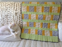 Chicken + Egg Quilt and Magnus
