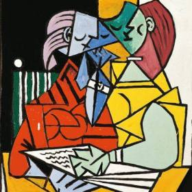 Picasso-Two-Characters