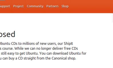 Cierra ShipIt de Ubuntu