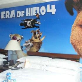 habitación temática la era del hielo 4