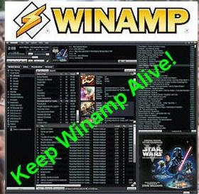 winamp alive