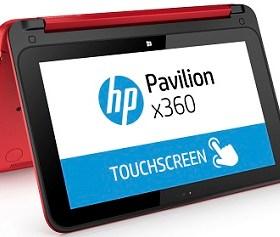 HP Pavilion x360 nodo