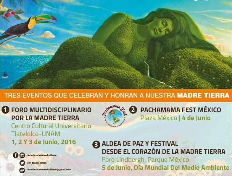 Listos para PACHAMAMA FEST asistan este 4 de junio