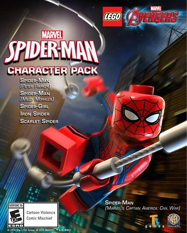 SPIDER-MAN LLEGA A LEGO MARVEL'S AVENGERS