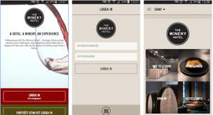 winery hotel app