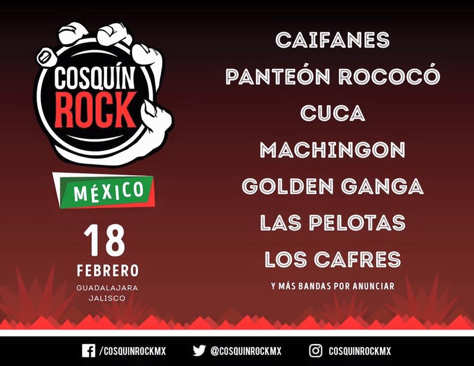 Cosquín Rock llega a México con bandas confirmadas