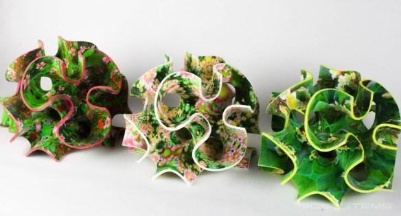 3d printed sugar shapes