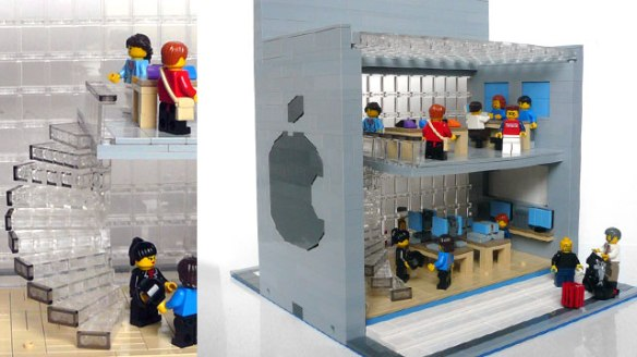 An Apple Store Lego kit