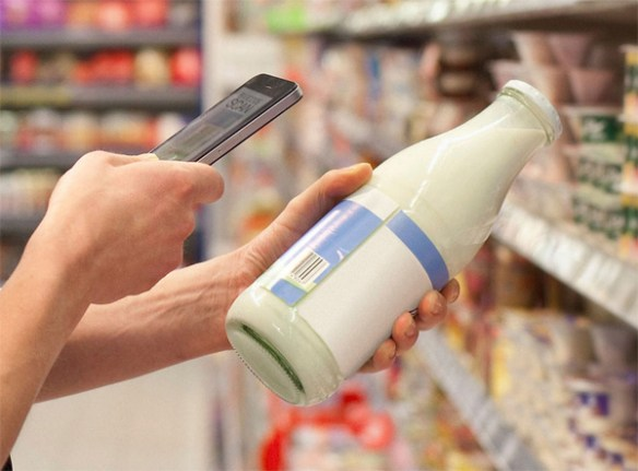 beacons in supermarkets