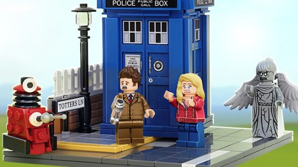 Dr. Who Lego kit