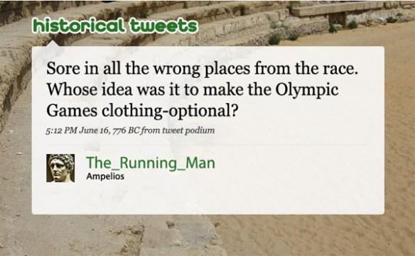 humorous history tweet