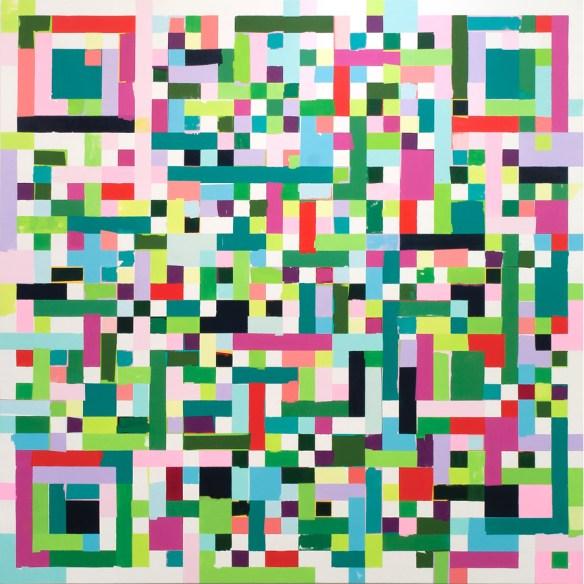 QR code art by Kyle Trowbridge