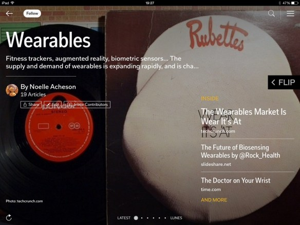 Noelle's Wearables flipboard magazine