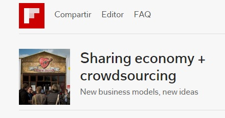 Flipboard magazine on the Sharing Economy