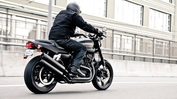 Grandad on motorcycle