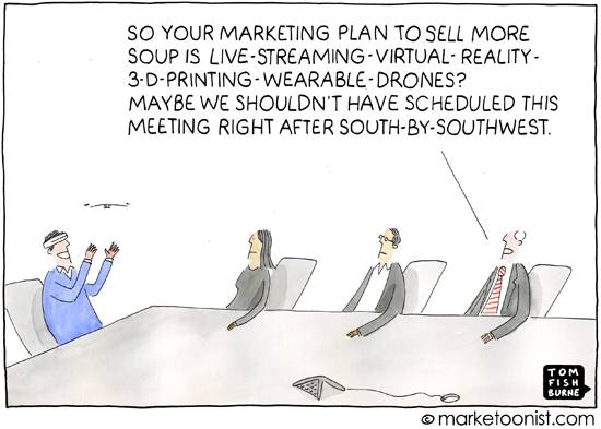 by Tom Fishburne at The Marketoonist
