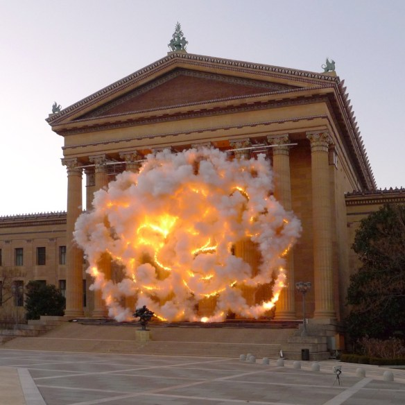 by Cai Guo-Qiang, via Colossal