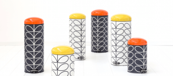 (Orla Kiely bins by Brabantia – they may not be smart, but they look pretty good)