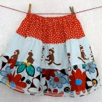 sock monkey skirt