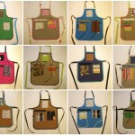 canvas aprons for kids