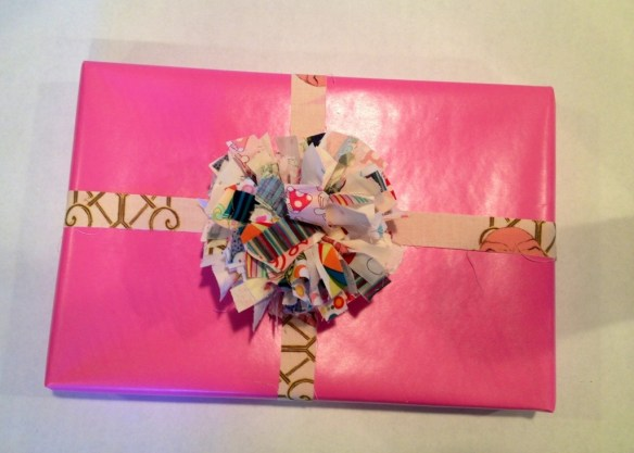 recyclable fabric bow