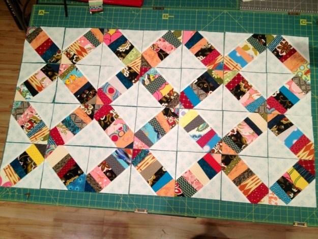 confetti quilt, foundation pieced .jpg