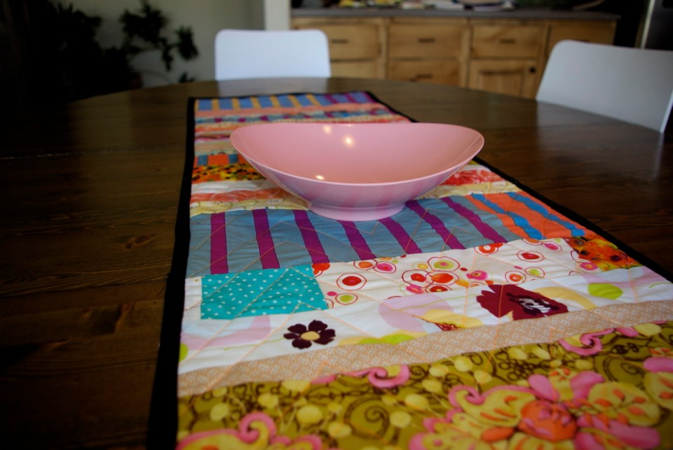 chevron-table-runner