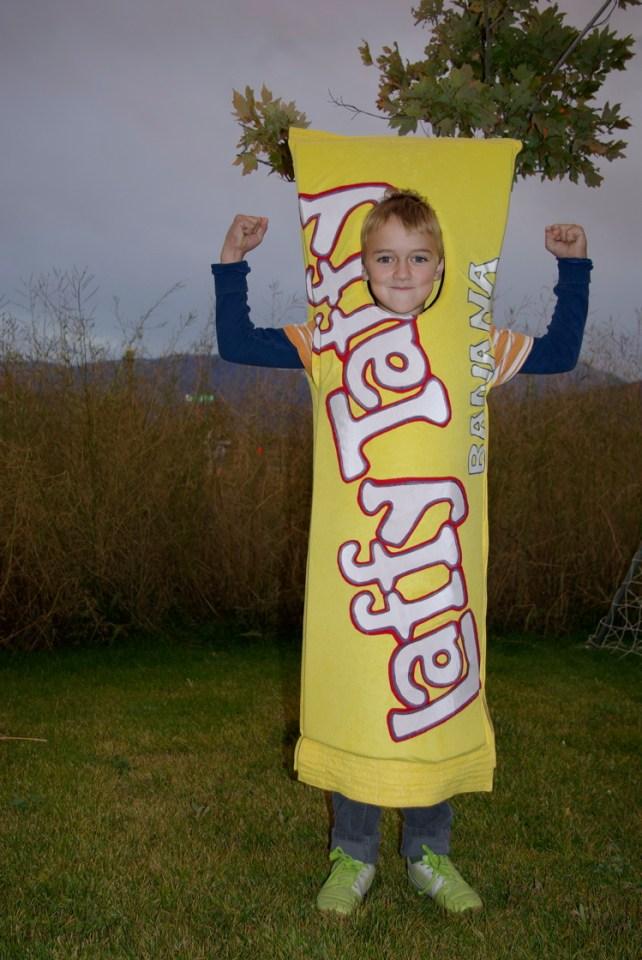 Laffy Taffy costume