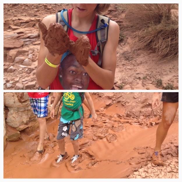 mud mittens