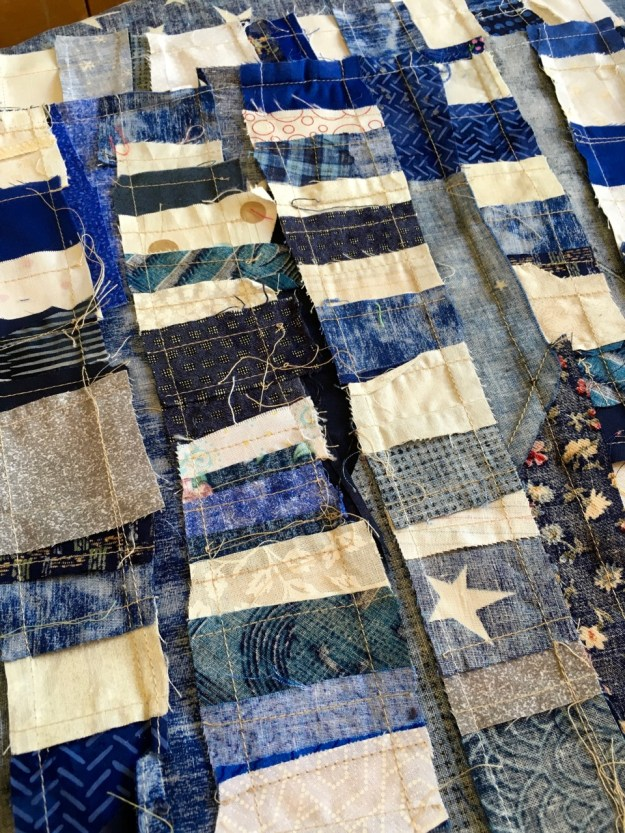 building the quilt stars back