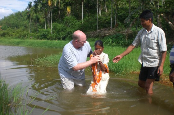 Hindu woman raised to newness of life!