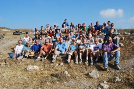 Tel Gezer Group Picture 2008 Season
