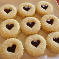 Raspberry Almond Linzer Cookies Recipe