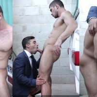 [Men At Play] Dato Foland le folla la boca y el ojete a Josh Milk y le lefa la jeta