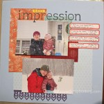 first impression || noexcusescrapbooking.com
