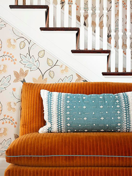 This vignette from Better Homes and Gardens' Color Made Easy 2014 magazine makes me want to create something with wonderful texture and color!