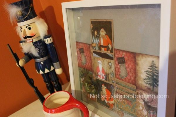 santa page || noexcusescrapbooking.com